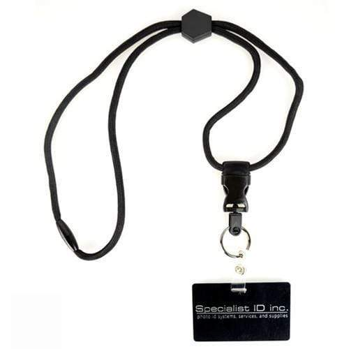 Heavy Duty Breakaway Round Lanyard With Detachable Key Ring (2135-454X)