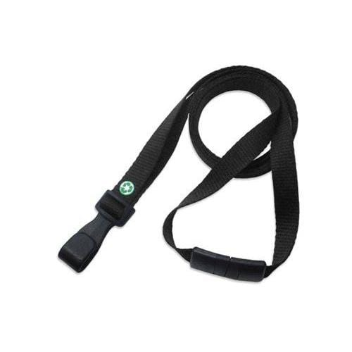 "Recycled PET Earth Friendly 3/8"" Lanyard"