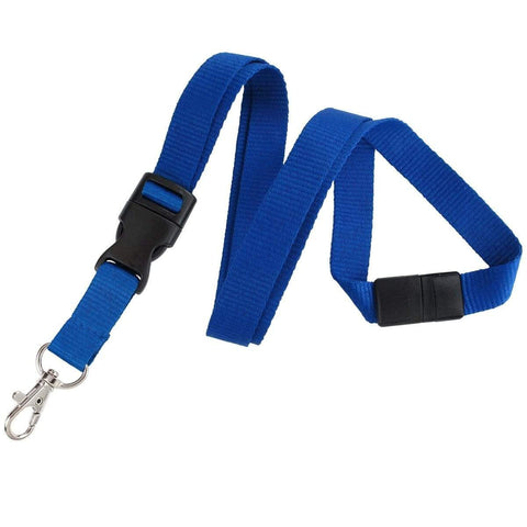 Neon Lanyard with Safety Breakaway Clasp - Bright Soft Lanyards 2138-504X