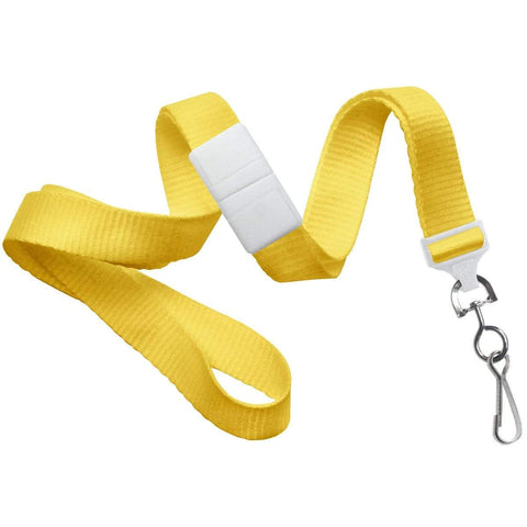 Breakaway Lanyard with Round Slider And Detachable Key Ring 2135-461X