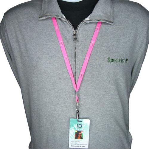 "3/8"" Awareness Lanyard with Pink Ribbon (P/N 2138-5288)"