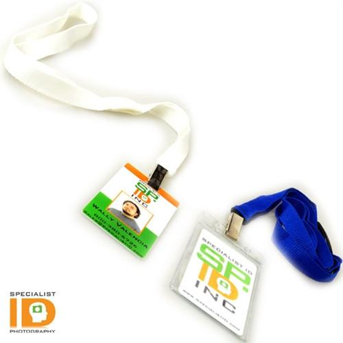 "5/8"" Breakaway Lanyard With Bulldog Clip (2138-600X)"
