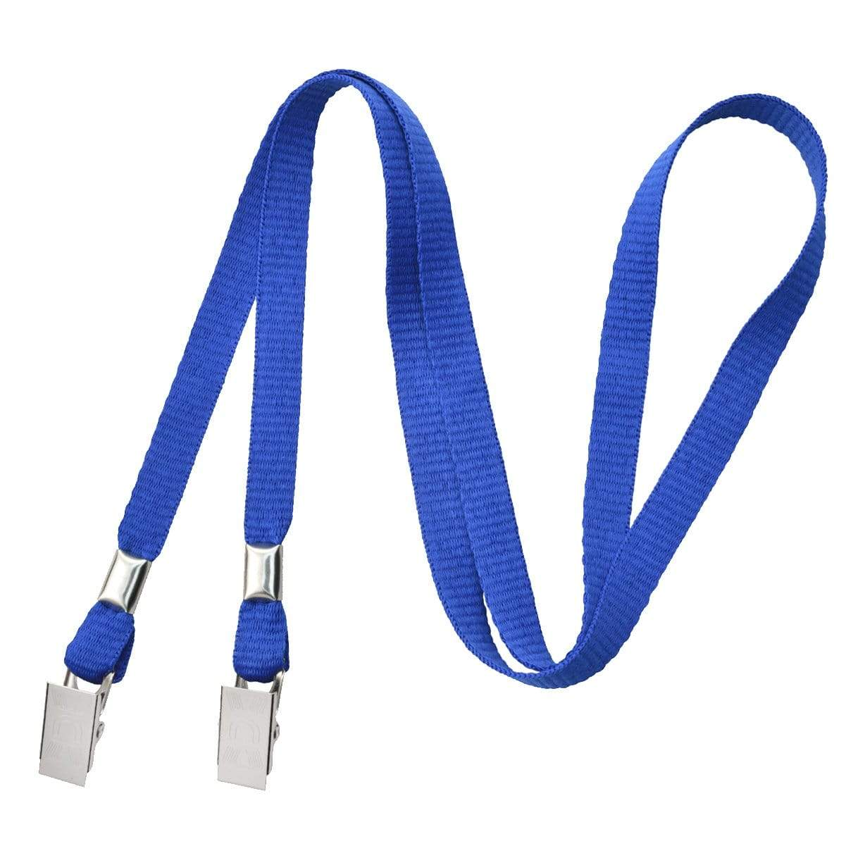 Face Mask Lanyard - Lightweight Facemask Neck Hanger & Ear Saver with 2 Bulldog Clips -  Soft Material (2140-530X)