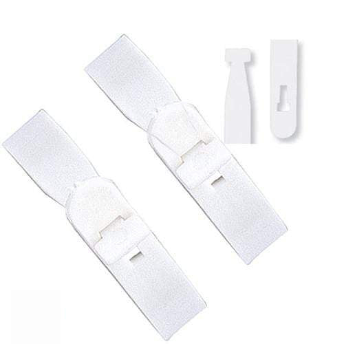"Buy Online Cheap, White Vinyl ""T"" Lock Strap 2430-1008"