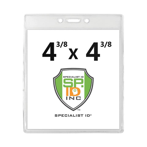 3 Card Horizontal ID Badge Holder B-Holder