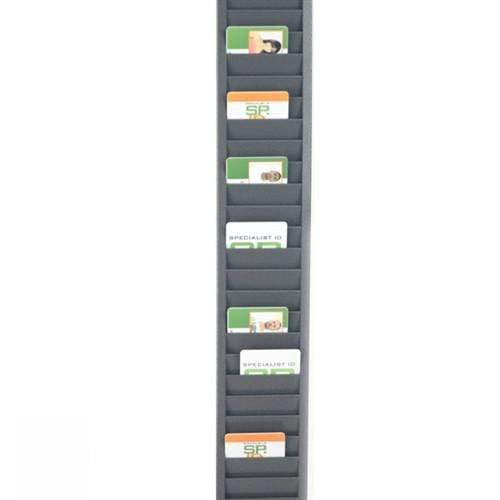 Vertical ID Badge Rack Card Holder (P/N 3905-0150)