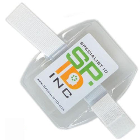 Horizontal Armband with Strap (504-AR1B & 504-AR1W)