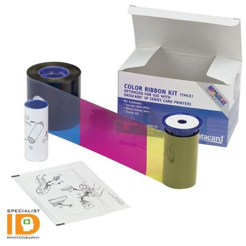 Datacard 534000-008 YMCK Color Ribbon & Cleaning Kit