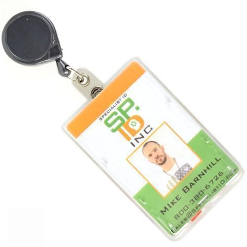 "MINI-BAK Retractable Reel with 24"" Cord and Belt Clip #57HD"
