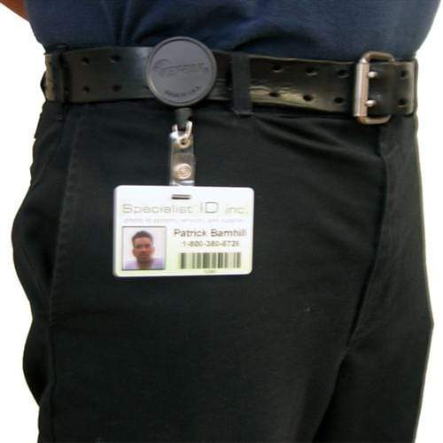 Key-Bak Mid Size ID Badge Reel with Steel Belt Clip (6ID)