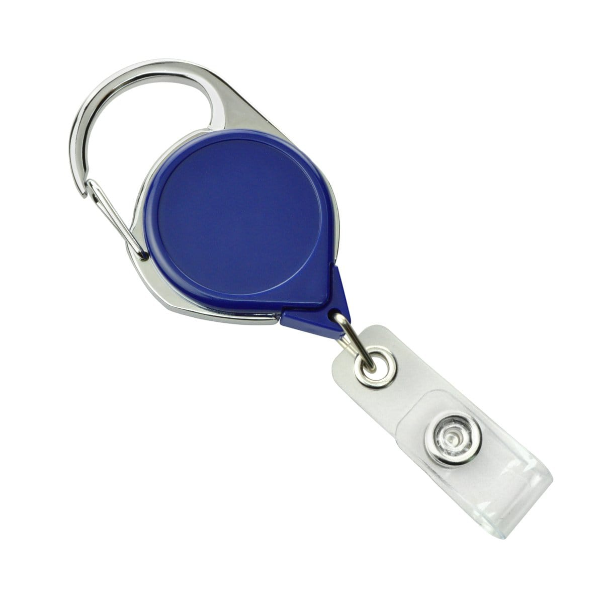 No Twist Badge Reel with Carabiner And Belt Clip (704-CLP)