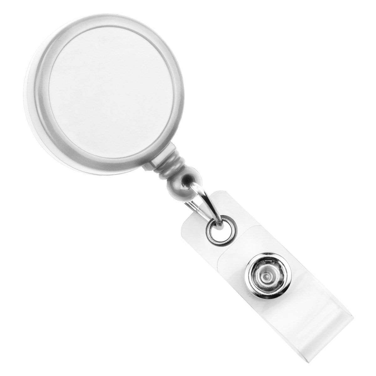 Max Label Badge Reel with 1 Inch Smooth Face and Swivel Spring Clip (909-I)