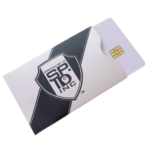 RFID Blocking Sleeves - Credit Card Size Anti-Theft Protection for Chip Embedded Cards