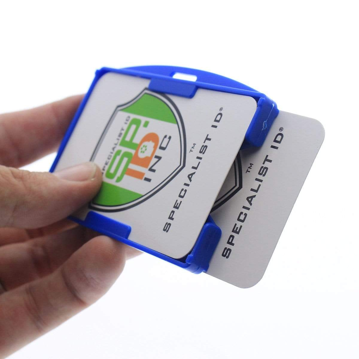 Rigid Open-Faced 2 Card Holder (P/N AH-150)