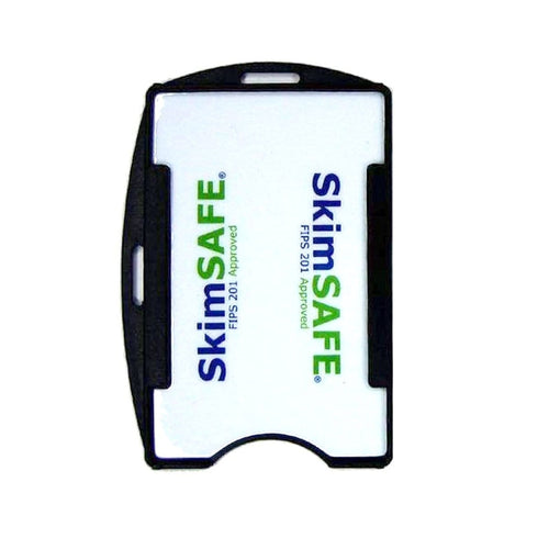SkimSAFE FIPS 201 RFID Blocking Single Card ID Holder (P/N AH-200)