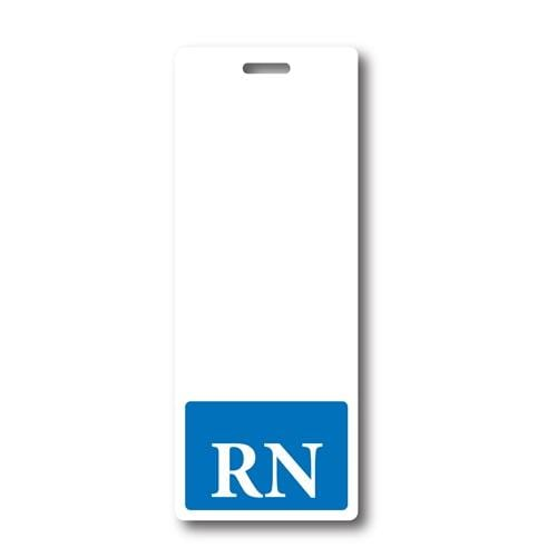 "Extra Large ""RN"" Vertical Hospital ID Badge Buddy"