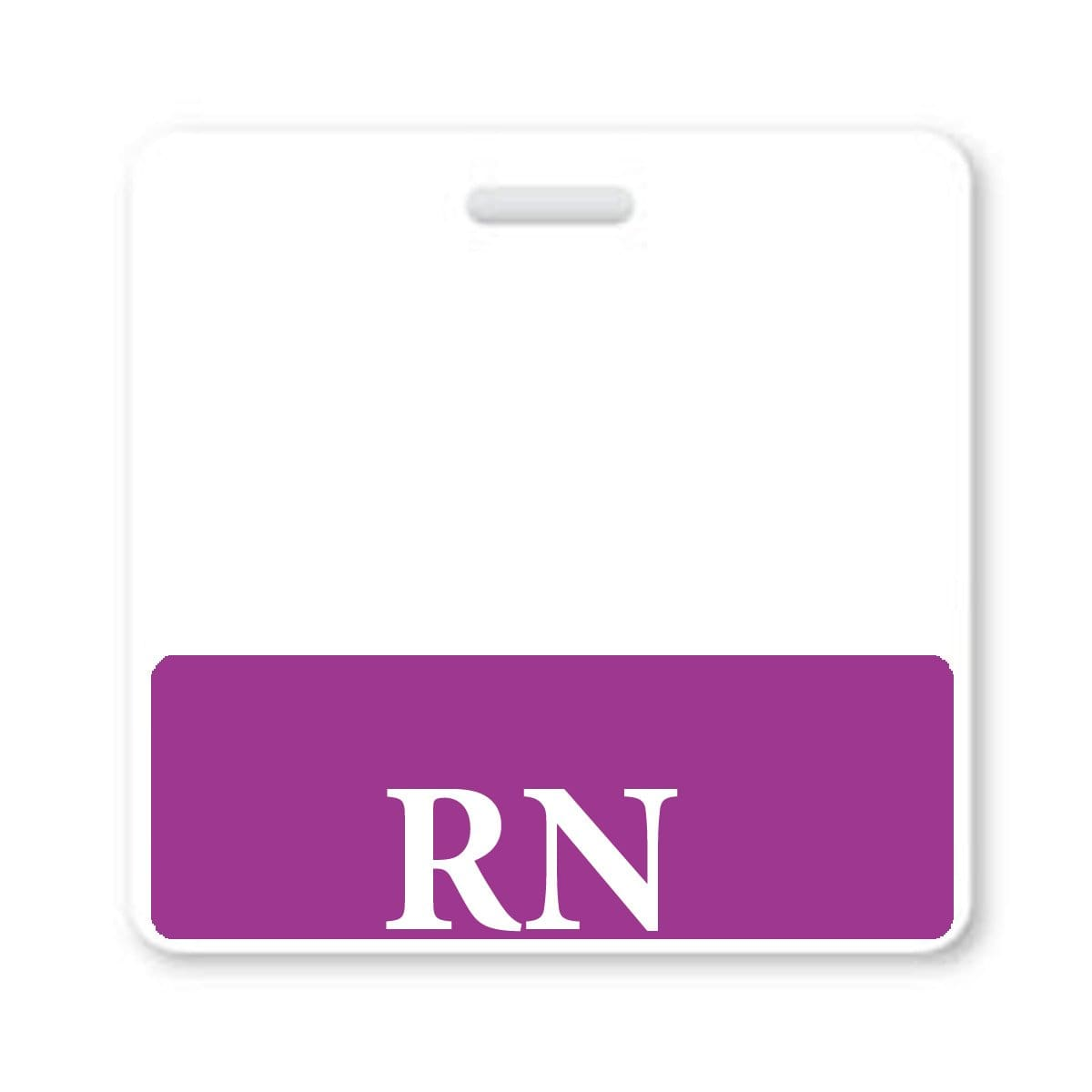 """RN"" Registered Nurse Horizontal Badge Buddy"