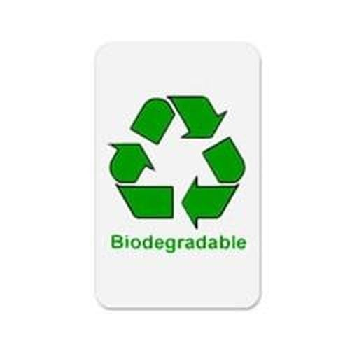 Standard CR80 30mil Earth-Friendly bioPVC Cards - 500 cards