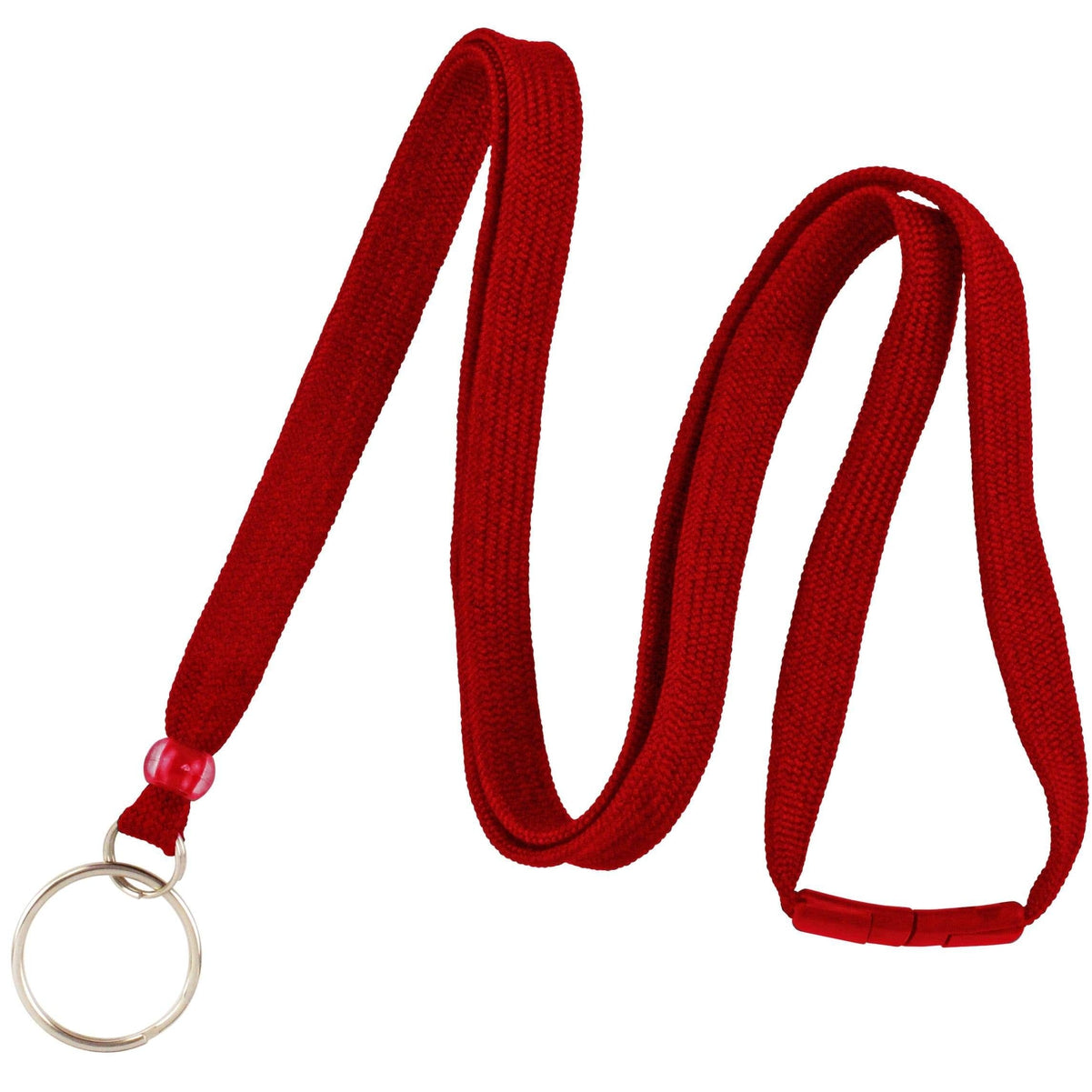 Flat Breakaway Lanyard With Split Key Ring  BL-34R