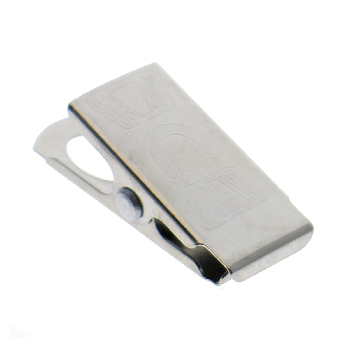 Bulldog Clips for DIY Lanyards and Arts and Crafts - Alligator Style Metal ID Clip (5705-3542)