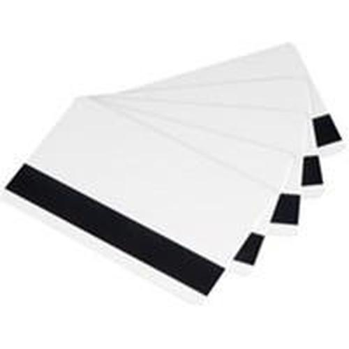 Evolis CR80 30mil Rewritable HiCo Mag PVC Cards - 100 cards