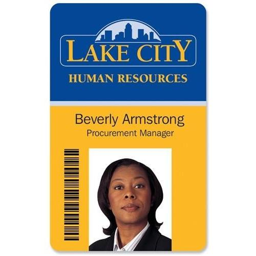 Custom Printed Photo ID Badge