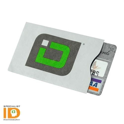 Identity Stronghold (IDSH1003-001)  RFID Blocking Secure Sleeves for ID And Credit Cards