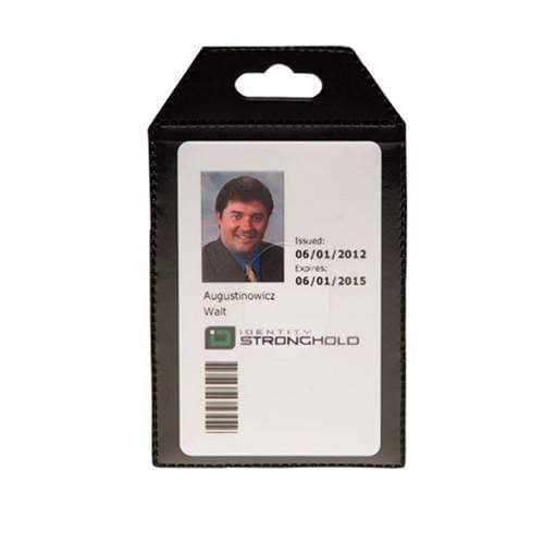 Identity Stronghold IDSH3004-001B Secure Badgeholder Flex
