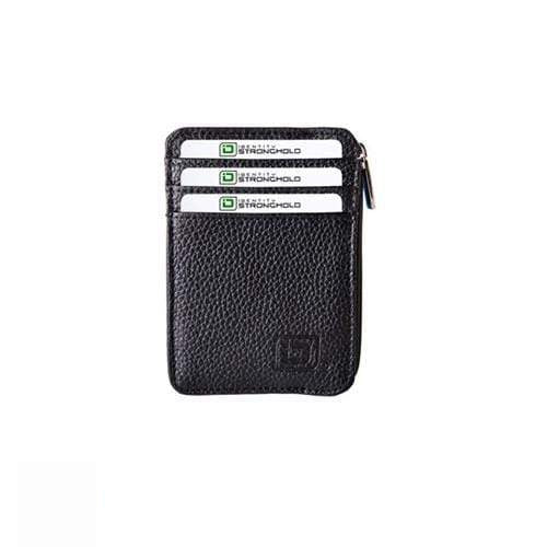 Identity Stronghold IDSH7004-BLK RFID Blocking Secure Mini Wallet