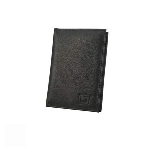 Identity Stronghold IDSH7201-001BLK RFID Blocking Secure Passport Cover