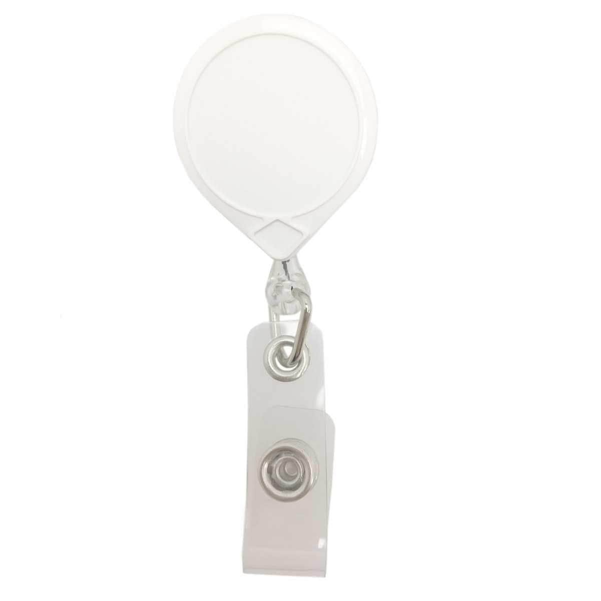 White Key-Bak #66 Retractable Badge Reel