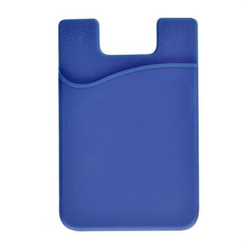 Silicone Cell Phone Wallet - Vertical (SPID-050X)