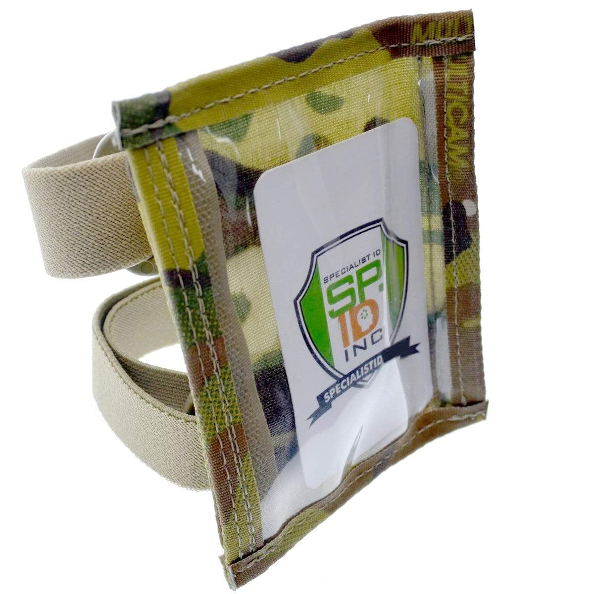 MultiCam Raine Military ID Badge Armband Holder with Two Straps (SPID-1090) SPID-1090-MULTICAM