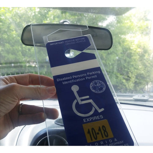 Specialist ID Handicap Hang Tag Holder (SPID-1120)
