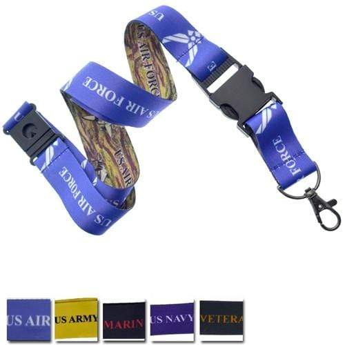 Order Online, Military Licensed Breakaway Lanyards With Detachable Lobster Claw (SPID-2030)