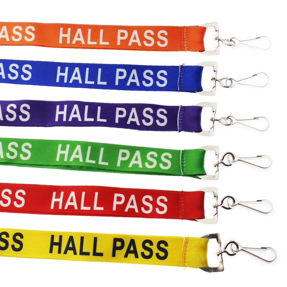 """Hall Pass"" Breakaway Lanyard With Swivel Hook (SPID-2190)"