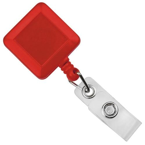 Order Online, Square Badge Reel With Belt Clip (P/N SPID-3080)