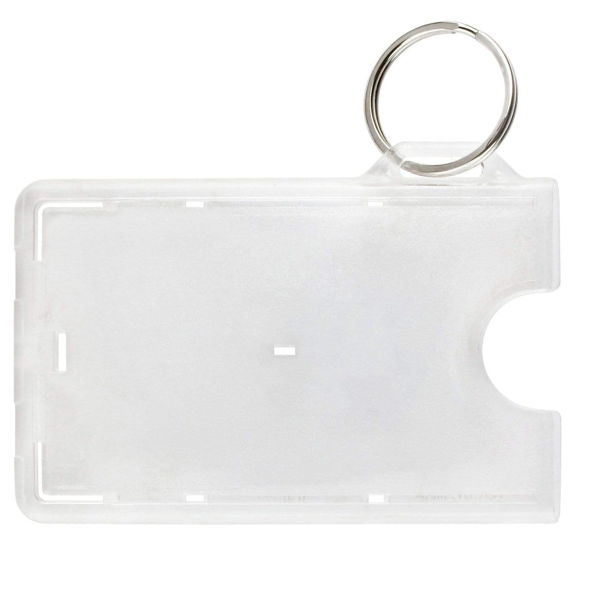 SPID Secure Fuel Card Holder with Key Ring (SPID-FUELCARD-RNG-C)