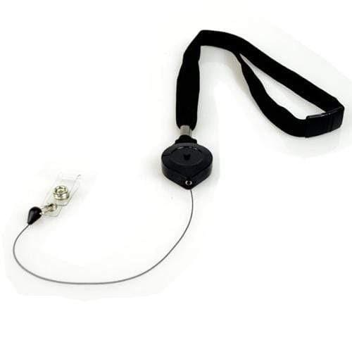 Lock-A-Lanyard Self Locking Retractable Lanyard PIV Card Holder