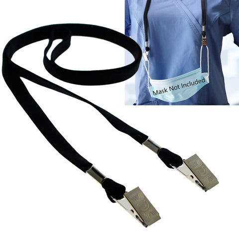"Black ""IT Department"" Lanyards (SPID-2010-BLK)"