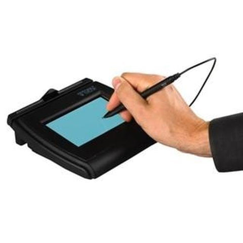 Digital Signature T-LBK462-HSB-R SignatureGem Backlit LCD 1X5 Topaz Capture Pad