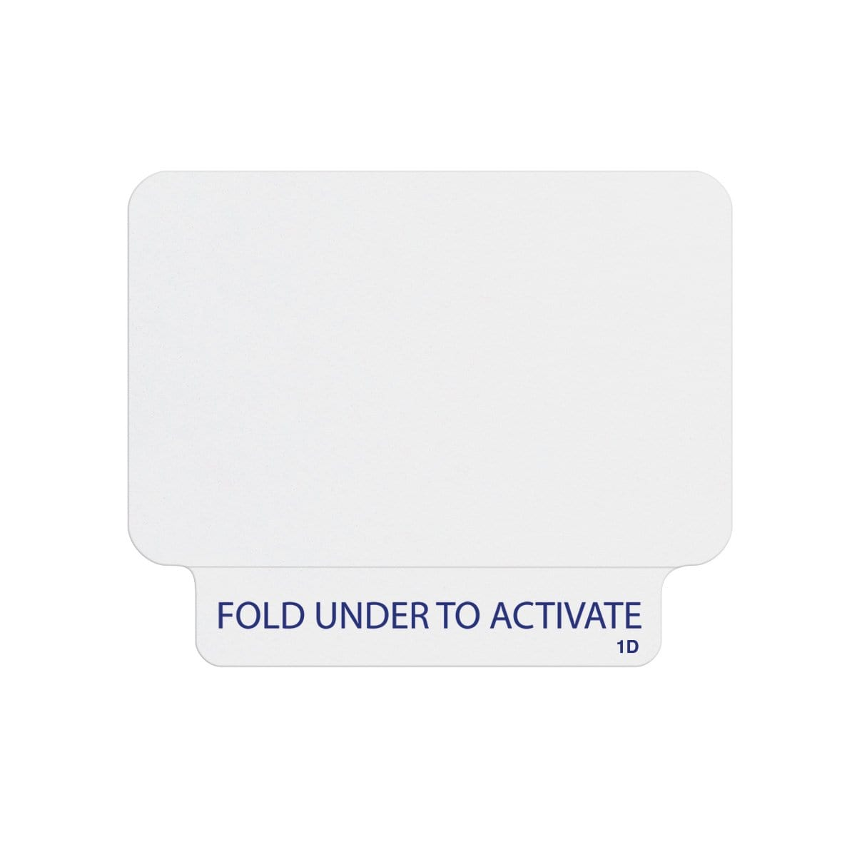 Thermal Printable ONEstep Quick Tab TimeBadge, Box of 1000 (P/N T2031)