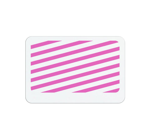 Thermal-printable Non-expiring Printable Adhesive Badges, Box of 1000 (P/N 0408X)
