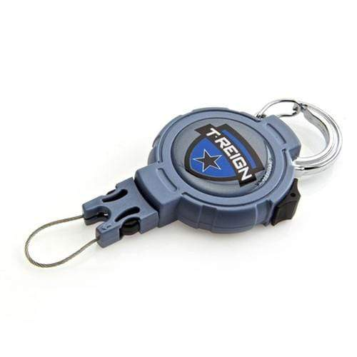 T-Reign Large Heavy Duty Retractable Locking Gear Tether with Attachment Loop (TRHDXX)