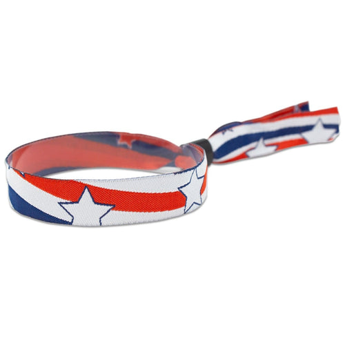 "Liberty Design 1/2"" High Security Adjustable Closure Woven Wristbands"