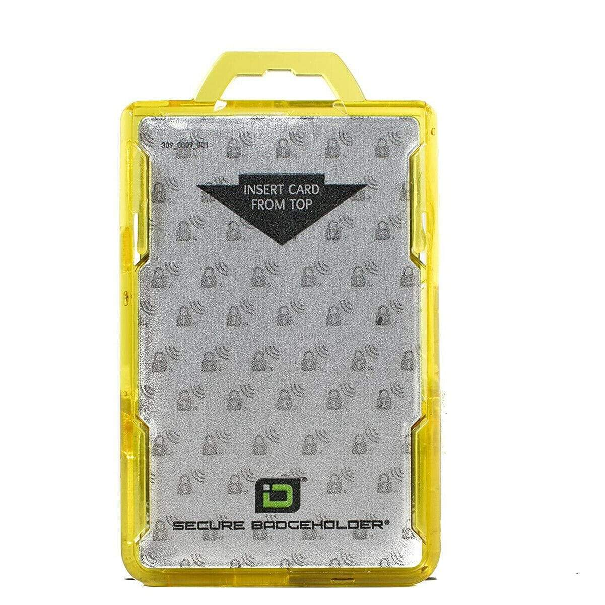 Identity Stronghold RFID Blocking Secure ID Badgeholder DuoLite (IDSH2004-001B)