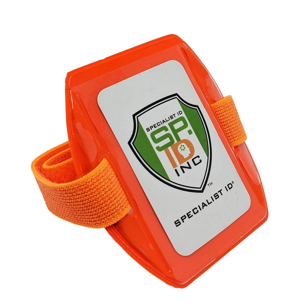 Vertical Reflective Armband ID Holder (R504-ARN)