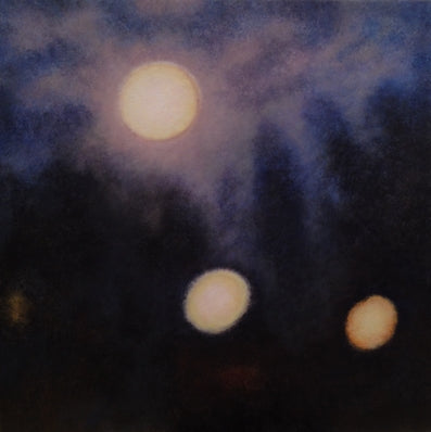 Artist Cree Stevens Nightscape painting