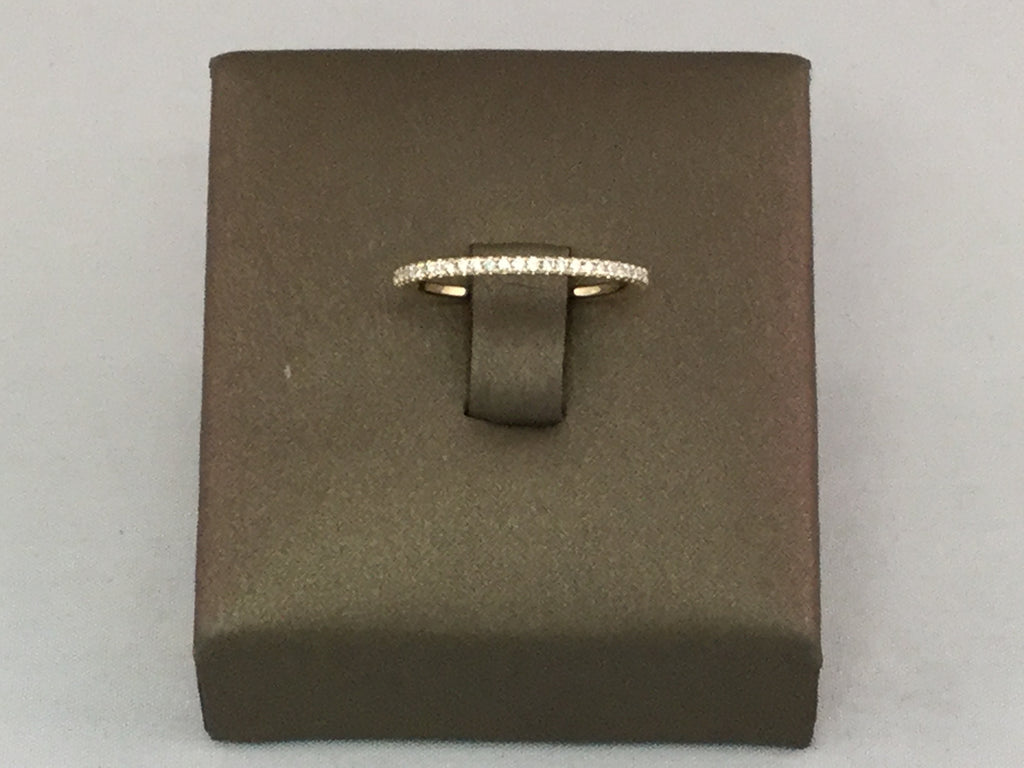 14KT DIAMOND BAND