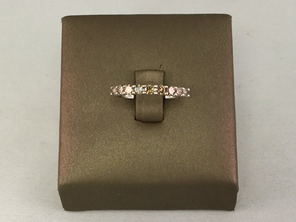 14KT MOCHA DIAMOND BAND
